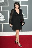 Kathy Mattea en el 51.o Grammy Awards anual. Centro de las grapas, Los Ángeles, CA 02-08-09 Fotografía de archivo libre de regalías