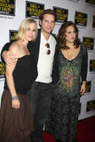 Kathy Najimy,Jennie Garth,Peter Facinelli Royalty Free Stock Photography