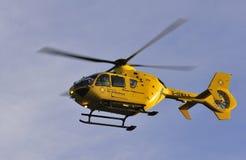 Katie, ambulancia de aire del noroeste, Inglaterra Fotografía de archivo