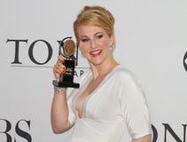 Katie Finneran Wins en 64.o Tony Awards en 2010 Fotografía de archivo libre de regalías