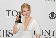Katie Finneran Wins en 64.o Tony Awards en 2010 Imagenes de archivo