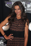 Katie Holmes. LOS ANGELES - AUG 28:  Katie Holmes arriving at the  2011 MTV Video Music Awards at the LA Live on August 28, 2011 in Los Angeles, CA Royalty Free Stock Photo