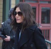 Katie Holmes en Sundance 2010 fotos de archivo