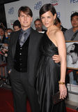 Katie Holmes, Tom Cruise Stock Image