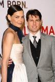Katie Holmes Tom Cruise Royaltyfria Bilder