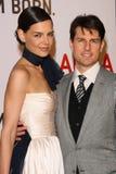 Katie Holmes, Tom Cruise stockfotos
