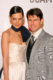Katie Holmes,Tom Cruise Stock Photo