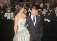 Katie Holmes, Tom Cruise Imagem de Stock Royalty Free