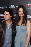 Katie Holmes, Tom Cruise, Kennedy Στοκ εικόνα με δικαίωμα ελεύθερης χρήσης