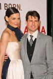 Katie Holmes,Tom Cruise Stock Image
