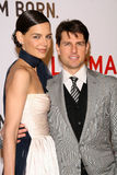 Katie Holmes,Tom Cruise Royalty Free Stock Images