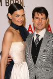 Katie Holmes,Tom Cruise Stock Photos
