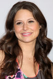 Katie Lowes arrives at the ABC / Disney International Upfronts Stock Image