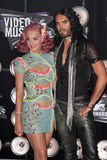 Katie Perry,Katy Perry,Russell Brand Stock Photos