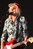 Katie White av Ting Tings. Royaltyfri Fotografi