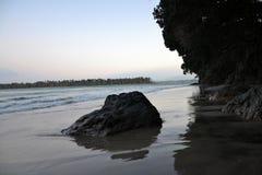 Katikati wybrzeża linia - MacMillan rezerwa Zdjęcie Stock