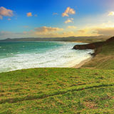 Katiki Point Sunset Royalty Free Stock Image
