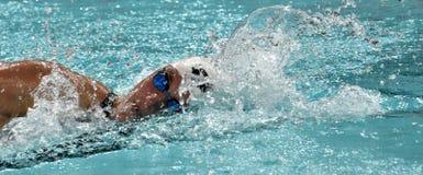 Katinka HOSSZU HUN. Hong Kong, China - Oct 29, 2016.  Katinka HOSSZU HUN swimming in the Women`s Freestyle 800m Final. FINA Swimming World Cup, Victoria Park Stock Image