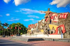 Katipunan (KKK) Monument in Manila, Philippines. Manila, Philippines - Feb 4, 2018 : Katipunan (KKK) Monument in Manila, Philippines. The Katipunan was a Stock Photography