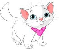 Katje in liefde vector illustratie