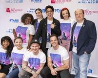 Katlyn Carlson, Tiffany Mann, Lauren Marcus à 2019 étoiles dans l'allée images libres de droits