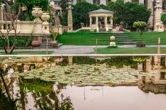 Katmandou, Népal, 04 12 2018 - Jardin des rêves images stock
