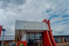 Katmandou, Népal, le 2 novembre 2017 : Infrastructure dans l'aéroport international de Tribhuvan - Katmandou Photographie stock libre de droits