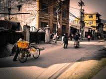 Katmandou vivant Photos libres de droits