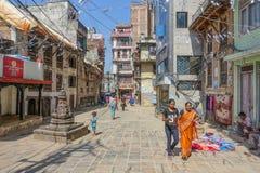 Katmandu central Fotos de archivo libres de regalías