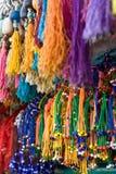 Katmandu coloreó el mercado Fotografía de archivo