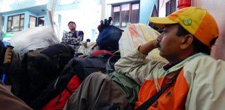 Katmandu flygplats Royaltyfria Bilder