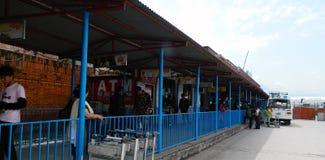 Katmandu flygplats Royaltyfri Fotografi