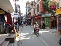 Katmandu gatorna av Thamel Royaltyfria Foton