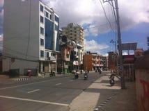 Katmandu moderna Imágenes de archivo libres de regalías