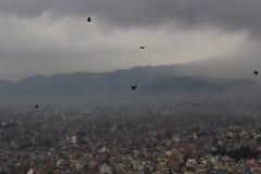 Katmandu, Nepal, Asia del Sur, visión fotografía de archivo libre de regalías
