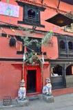 Katmandu, Nepal, 25 Oktober, 2012, het Kumari-Paleis Royalty-vrije Stock Fotografie
