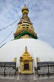 Katmandu, Nepal, stupa de Swayambhunath fotografía de archivo