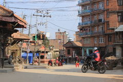 Katmandu/Patan, Nepal foto de archivo
