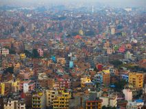 Katmandu stad Arkivfoton