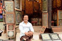 Katmandu stad, Napel Fotografering för Bildbyråer