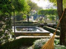 Katmandu trädgård av drömmar Arkivfoto