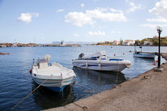 Kato Galatas Marina, Greece Stock Photo