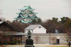 Kato Kiyomasa i Nagoya kasztel Obrazy Stock