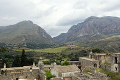 Kato Moni Preveli Monastery in Crete, Greece Royalty Free Stock Image