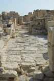 Kato Paphos Archaeological Park in Cyprus stock afbeelding