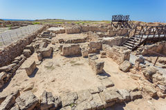Kato Paphos Archaeological Park, Cyprus. Stock Photography