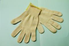 Katoenen Handschoen Royalty-vrije Stock Foto's