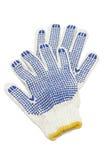 Katoenen handschoenen Stock Fotografie
