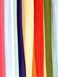Katoenen sjaals Stock Afbeelding