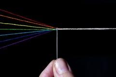Katoenen spectrum stock foto's